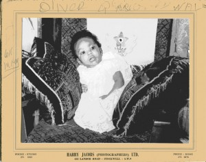 Me as a Windrush baby